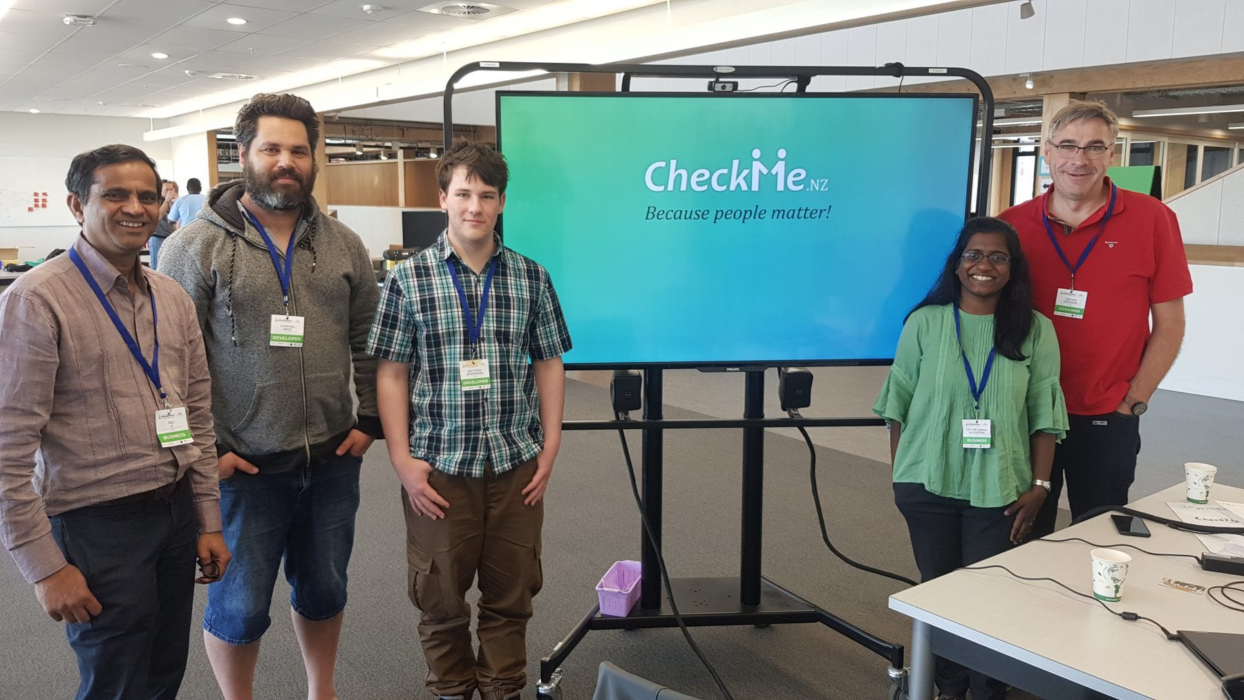 CheckMe – My experience with Start-up Weekend 2019
